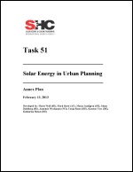 Task 51 - Solar Energy in Urban Planning - Annex Plan